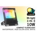 Mi·light 10W RGBW Kleur+Dual Wit schijnwerper