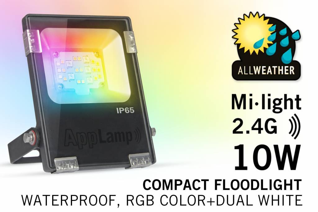 Mi·Light Mi·light 10W RGBW Kleur+Dual Wit schijnwerper