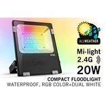 Mi·light 20W RGBW Kleur+Dual Wit verstraler
