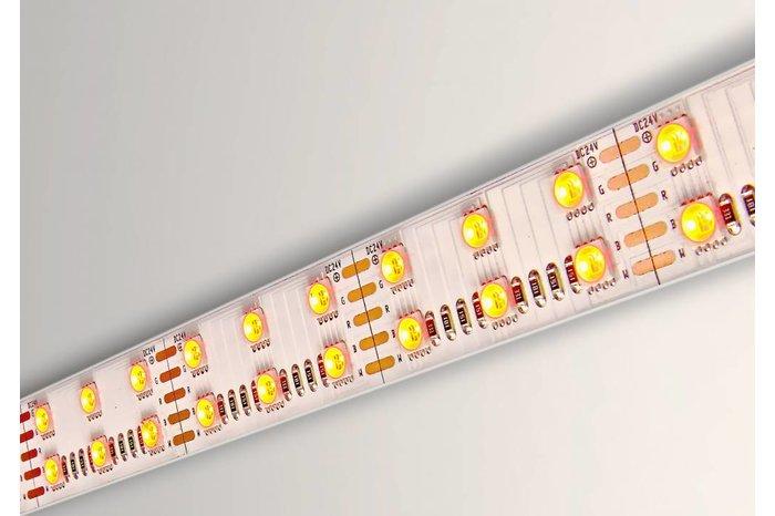 RGBW ULTRA LED strip dubbele rij 120 LED/m, 4 IN 1 LED