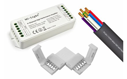 RGBW LEDstrip accessoires