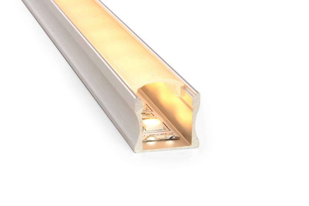 AppLamp LED strip profiel 2 meter, type 1715 incl. mist cover