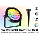 Mi·Light LED Tuinspot 9 Watt RGB kleur + Dual White - Mi-Light 220 Volt IP65
