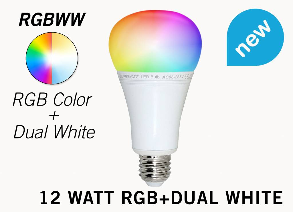 mi light e27 rgb dual white 12 watt wi fi led lampen complete set met wifi box en remote. Black Bedroom Furniture Sets. Home Design Ideas