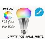 9 Watt RGB+Dual White RGBWW Mi-Light LED lamp