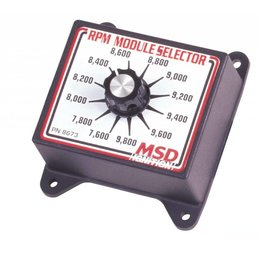 MSD ignition Selector Switch, 7.6K-9.8K