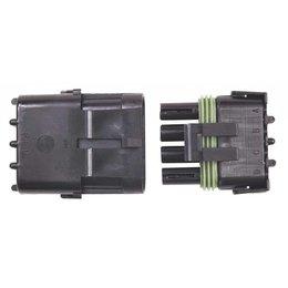 MSD ignition Steckverbinder, 4-Pin Weathertight, 1/Karte