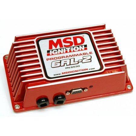 MSD ignition 6AL-2 programmierbare Zündungskontrolle Universelle