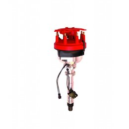 MSD ignition Distributor, GM, Adjustable Cam Sync with Adj. Rotor and LED Sync Ind.