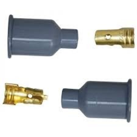 MSD ignition Boots and Terminals, Straight, Socket