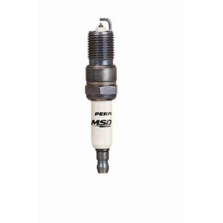 MSD ignition 15IR4 Spark Plug, 4 Per Package