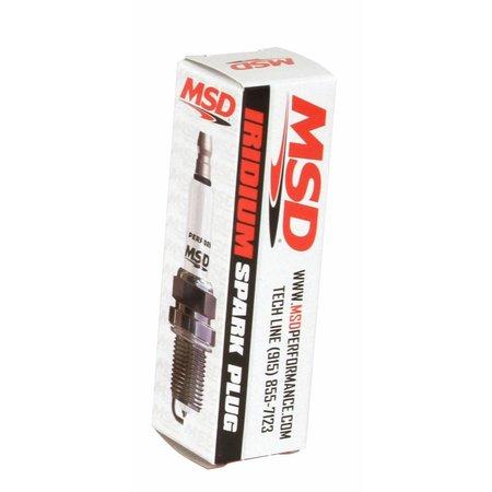 MSD ignition 6IR6Y Spark Plug, Single Pack