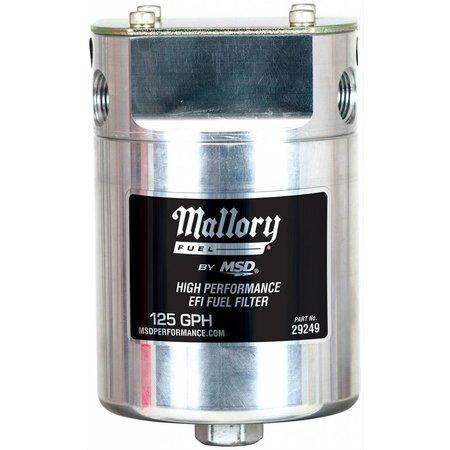 Mallory Mallory, Fuel Filter, EFI,125 GPH