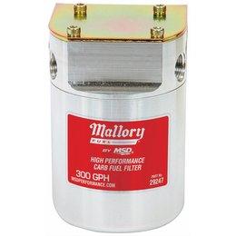 Mallory Mallory Fuel Filter,40Micrns, 3/8in Female