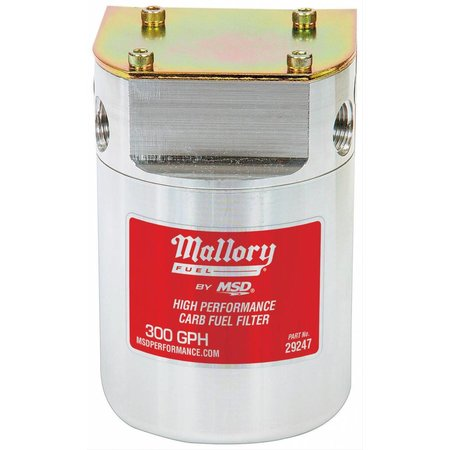 Mallory Mallory Fuel Filter,40Micrns, 3/8in Female