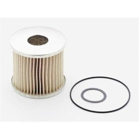Mallory Mallory Fuel Filter,Gas,Paper, 40 Micron