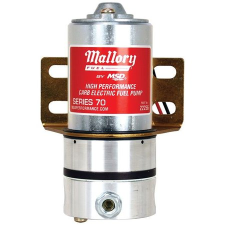 Mallory Mallory Pump, Fuel Carb 70gph, 5-6psi