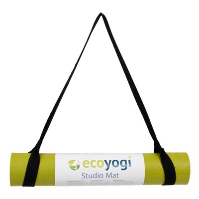 Ecoyogi Yoga mat Draagriem - Zwart