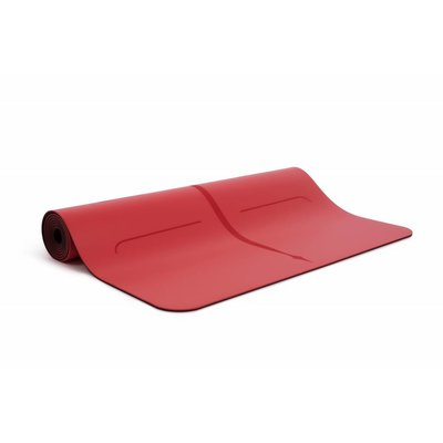 Liforme Mat Rood - Love mat (Incl. tas) - Limited Edition