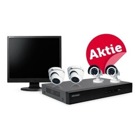Hikvision CCTV set met 19-inch NEOVO scherm