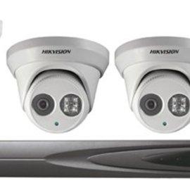 Hikvision Hikvision IP-CCTV EXIR kit 1 (4x dome)