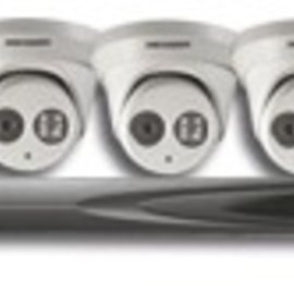 Hikvision IPKIT-7604-EX-1 Hikvision IP-CCTV EXIR kit 2 (3 dome / 1 bullet )