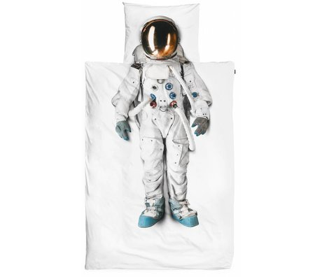 Snurk Beddengoed Astronaut cotton linens, white, 140x220cm