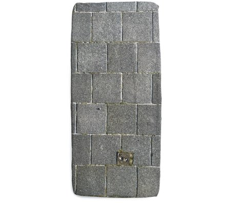 Snurk Beddengoed Sheet sidewalk, gray, various sizes