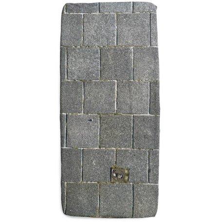 Snurk Beddengoed Leintuch Gehsteig, grau, in verschiedenen Größen