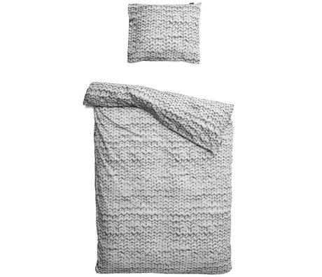 Snurk Beddengoed Twirre bedding, gray, available in 3 sizes