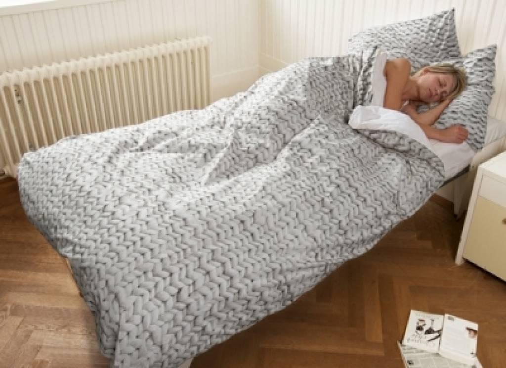 Snurk twirre biancheria da letto grigio disponibile in 3 misure - Biancheria da letto ...