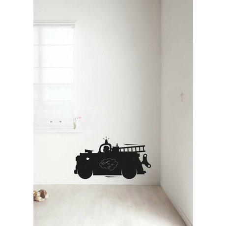 Kek Amsterdam 2 boyutta mevcuttur siyah kara tahta filmi itfaiye aracı,