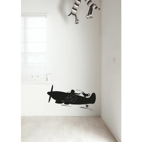 Kek Amsterdam Chalkboard film plane, black, available in 2 sizes