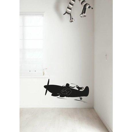 Kek Amsterdam Chalkboard filmplanet, sort, fås i 2 størrelser