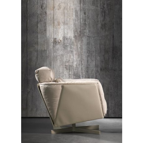 Piet Boon Wallpaper concrete look concrete2, gray, 9 meters