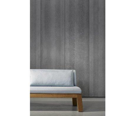 Piet Boon Carta da parati aspetto concreto concrete4, grigio scuro, 9 metri