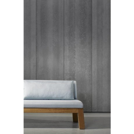 Piet Boon Wallpaper concrete look concrete4, dark gray, 9 meters