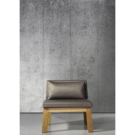 Piet Boon Concrete5 concreto effetto carta da parati, grigio, 9 metri