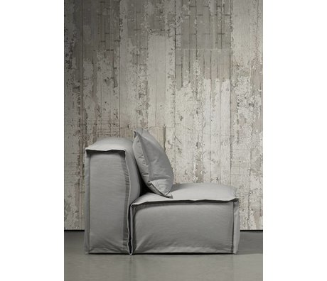 Piet Boon Wallpaper concrete look concrete6, gray, 9 meters