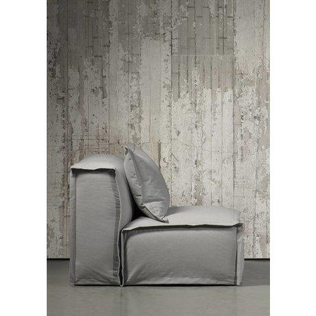 Piet Boon Duvar kağıdı beton görünüm concrete6, gri, 9 metre