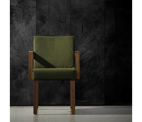Piet Boon Carta da parati aspetto concreto concrete7, nero, 9 metri