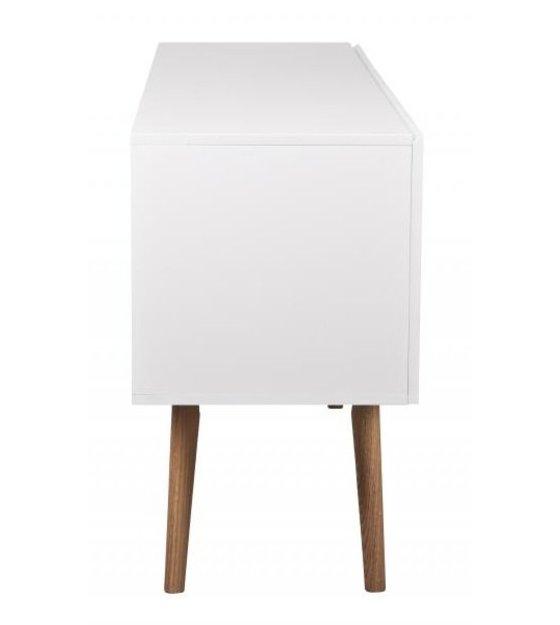 Meuble Tv Haut En Bois : Sur Bois En Bois Blanc 160x40x71 5cm Zuiver Meuble Tv Haut Sur Bois En