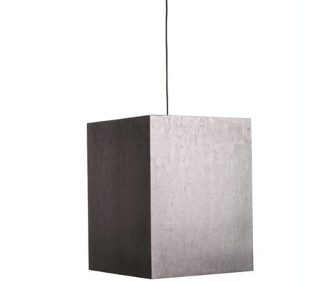 Zuiver Lamba Ağır Işık Beton karton asılı, gri, 38x38x48cm