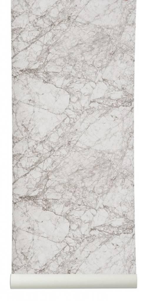 Ferm living fond d 39 cran marbre blanc gris 10 for Fond ecran marbre
