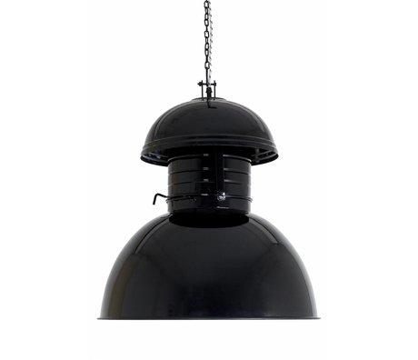"""HK-living Sanayi asılı lamba """"Depo"""" Büyük, siyah, metal, Ø56cm"""