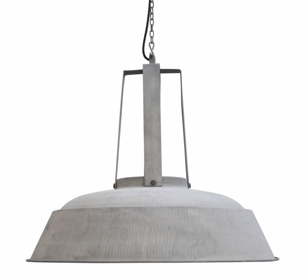 Hk living industrial lampe suspendue atelier xl gris mat m tal - Lampe suspendue industrielle ...