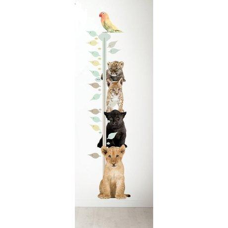 Kek Amsterdam Wall Decal and bar, div. Animals, 40x150cm