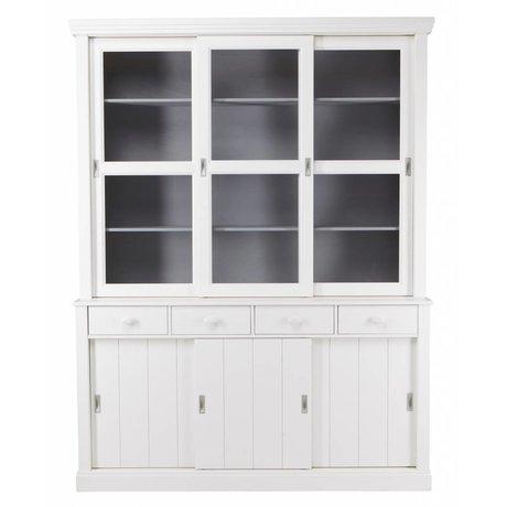 LEF collections LAGOS Büfesi dolap çam, beyaz, 215x166x48 cm yapılmış