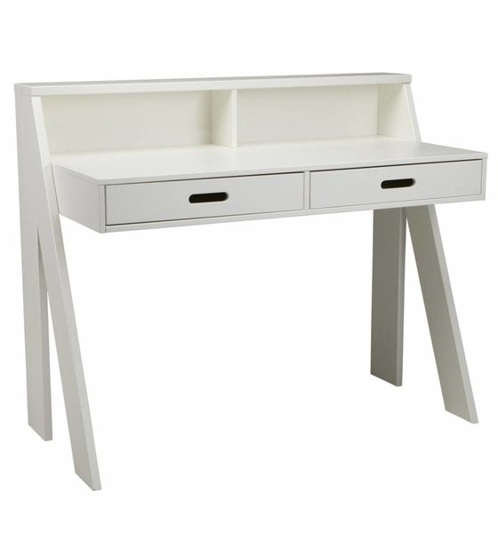 lef collections schreibtisch max aus kiefer wei. Black Bedroom Furniture Sets. Home Design Ideas