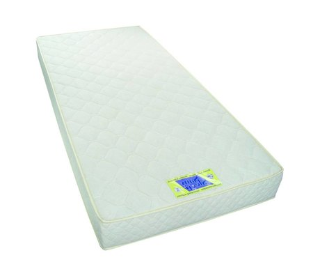 LEF collections Materasso polietere, bianco, 90x200x18cm